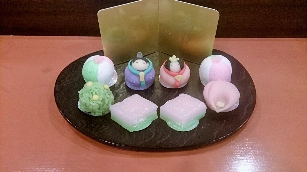 お雛様生菓子 (2)