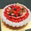 タルトの特注ケーキ (^^)